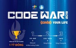 Code War 2019 – sân chơi lập trình chuyên nghiệp cho sinh viên