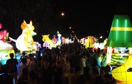 Rực rỡ lễ hội rước đèn Trung thu tại xứ biển Phan Thiết