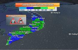 Nam Trung Bộ, Tây Nguyên, Nam Bộ đối mặt với đợt mưa lũ mới