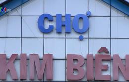 Chậm di dời chợ hóa chất Kim Biên