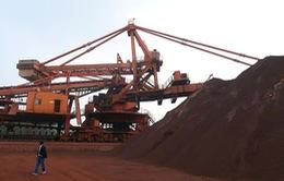 Giá quặng sắt tiếp tục tăng mạnh