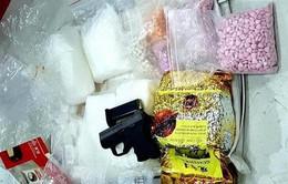 Phá đường dây buôn ma túy từ Campuchia về TP.HCM