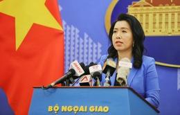 Kiên quyết phản đối nhóm tàu Hải Dương 8 của Trung Quốc vi phạm vùng biển Việt Nam