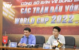 Vé sân nhà của ĐT Việt Nam tại vòng loại World Cup 2022 được bán online trên ứng dụng di động