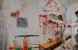 Căn phòng nghệ thuật giảm stress