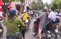 Bình Định: Tăng cường kiểm tra việc đội mũ bảo hiểm của học sinh