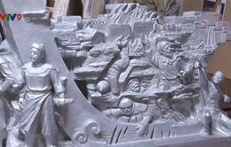 Trưng bày 31 tác phẩm điêu khắc về lực lượng vũ trang