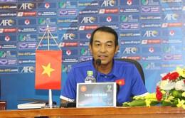 HLV Đinh Thế Nam: U16 Việt Nam sẽ đá hết mình để lọt vào vòng chung kết U16 châu Á