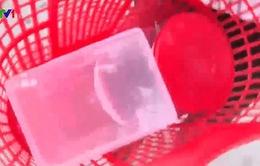 Đi chợ với làn nhựa góp phần bảo vệ môi trường