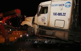 Đã xác định danh tính tài xế container gây tai nạn trên cầu Thanh Trì (Hà Nội)