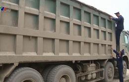 Xử phạt hơn 1.600 xe vi phạm tải trọng trong tháng 8