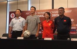HLV Nguyễn Quốc Bình hy vọng U16 nữ Việt Nam sẽ vượt qua sức ép trước các đối thủ mạnh