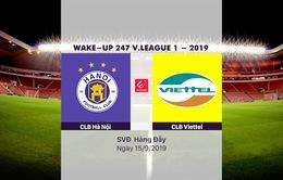 VIDEO Highlights: CLB Hà Nội 5-2 CLB Viettel (Vòng 23 Wake-up 247 V.League 1-2019)