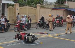 TP.HCM: Một người ngã xuống đường tử vong