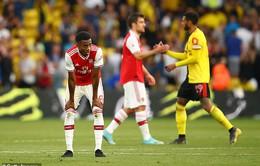Arsenal giành 1 điểm nhọc nhằn trên sân của Watford
