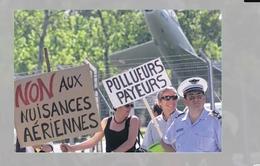 Ngành hàng không châu Âu có thể bị ảnh hưởng bởi phòng trào bảo vệ môi trường