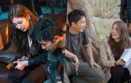 Suzy và Lee Seung Gi cực tình tứ trên phim trường