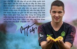 ĐT Việt Nam sắp có thủ môn nhập tịch?