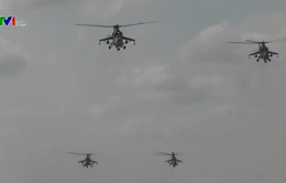 Nga bắt đầu tập trận quy mô lớn