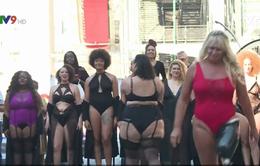 Show diễn kêu gọi mọi người suy nghĩ tích cực về cơ thể của chính mình