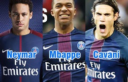 Gặp Real, PSG mất trắng bộ ba nguyên tử Neymar – Mbappe – Cavani