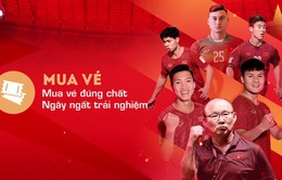 Hướng dẫn chi tiết mua vé bóng đá xem ĐT Việt Nam tại vòng loại World Cup 2022 trên ứng dụng di động