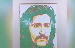 Tạo chân dung nhân vật nổi tiếng bằng Rubik