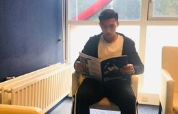 Thích nghi ở Heerenveen, Văn Hậu vừa cố học tiếng Anh, vừa thuê phiên dịch