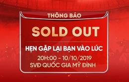 Toàn bộ vé online trận ĐT Việt Nam - ĐT Malaysia đã bán hết