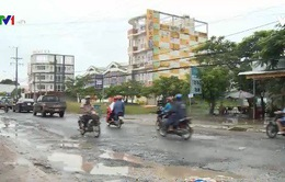 Nhiều quốc lộ ở Đồng bằng sông Cửu Long xuống cấp