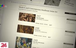Chứng thực nguồn gốc tranh đang nghi vấn giả mạo trên sàn đấu giá Sotheby's