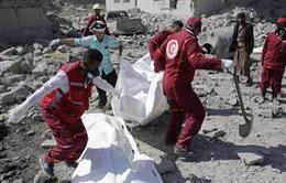 Nhà tù ở Yemen bị trúng không kích, hơn 100 người thiệt mạng