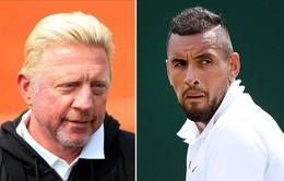 Boris Becker không quan tâm tới thái độ của Nick Kyrgios