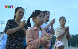 Trang trọng lễ chào cờ ngày Quốc khánh 2/9 trên Quảng trường Ba Đình