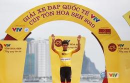 Chặng 2 giải xe đạp quốc tế VTV Cúp Tôn Hoa Sen 2019: Im Jaeyeon tiếp tục giữ áo vàng