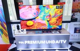 TCL chính thức 'tái xuất'trên đường đua tivi thông minh với 'chiến binh' UHD AI TV C8