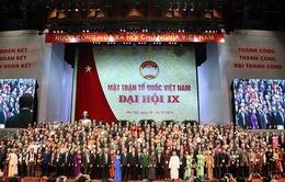 Bế mạc Đại hội Mặt trận Tổ quốc Việt Nam lần thứ IX