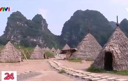"""Tháo dỡ phim trường """"Kong: Skull Island"""" tại Khu du lịch sinh thái Tràng An"""