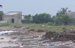 Sạt lở bờ biển nghiêm trọng tại Tiền Giang