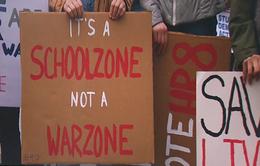 Video cổ động chống bạo lực súng đạn của học sinh Mỹ gây chấn động