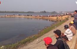Tắm sông, 1 học sinh ở Quảng Ngãi chết đuối