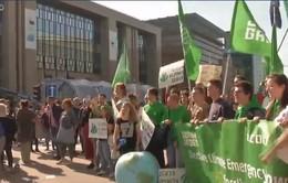 Tuần hành toàn cầu vì môi trường ở Bỉ