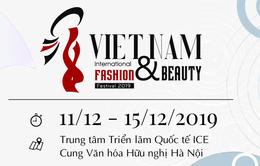 Lễ hội thời trang và làm đẹp quốc tế Việt Nam 2019: Cảm hứng thời trang và nét đẹp thời đại