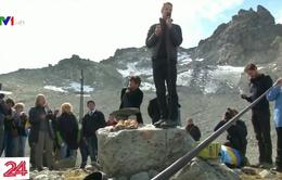 Đám tang cho sông băng ở Thụy Sĩ
