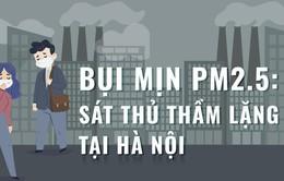 """[Infographic] Bụi mịn PM 2.5 - """"Sát thủ"""" thầm lặng tại Hà Nội"""
