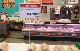 Nguy cơ thịt gà nhập khẩu chiếm lĩnh thị trường trong nước