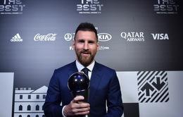 Messi giành giải Cầu thủ xuất sắc nhất năm