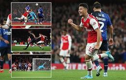 Vòng 3 cúp Liên đoàn Anh: Arsenal, Man City đại thắng, Tottenham bất ngờ bị loại