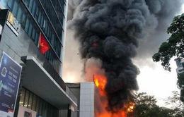 Hải Phòng: Cháy lớn tại trung tâm điện máy