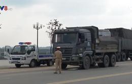 Quảng Ngãi: Vi phạm xe quá tải gia tăng từ xe chở cát